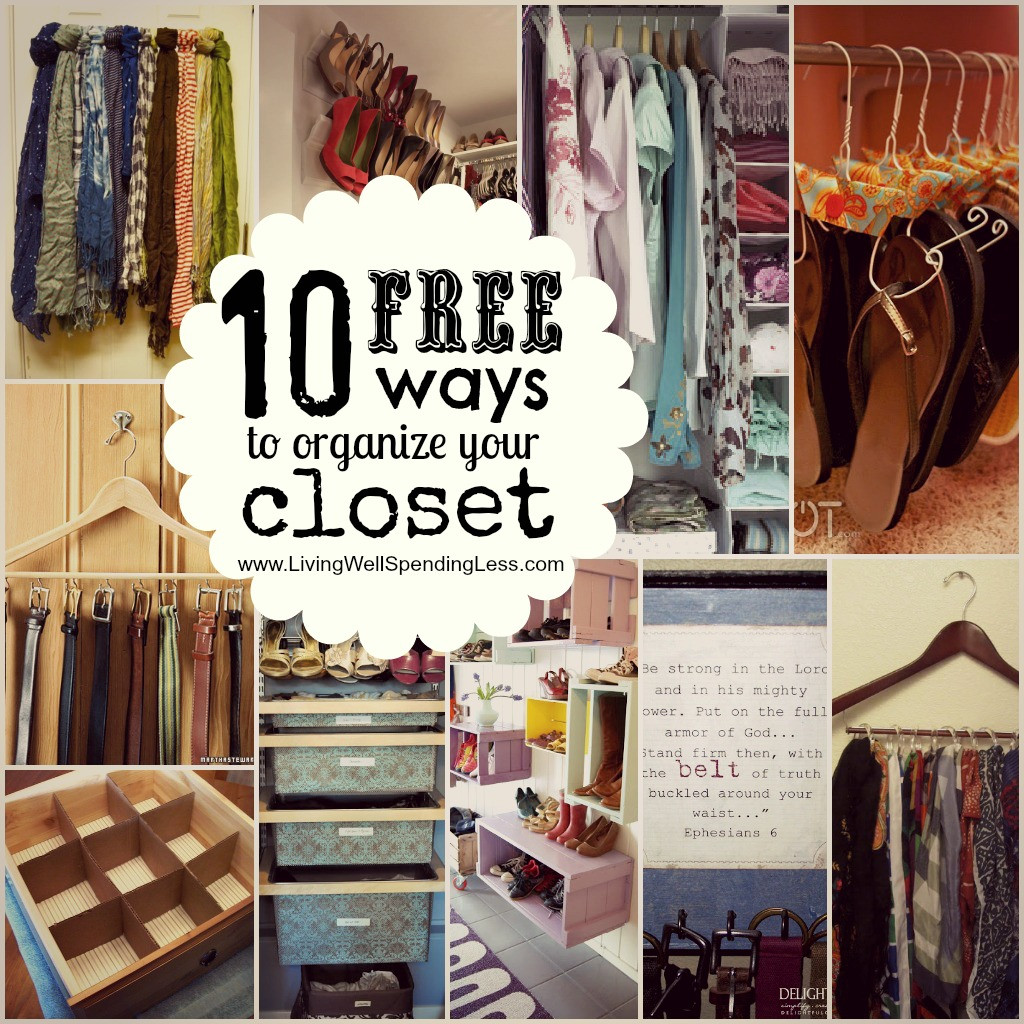 DIY Ways To Organize Your Closet  Space Saving Ideas For A Tiny Wardrobe – Raven Tao Big