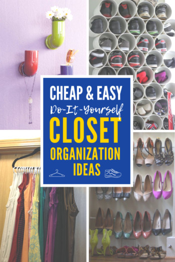 DIY Ways To Organize Your Closet  4 Cheap and Easy DIY Closet Organization Ideas You ll Love