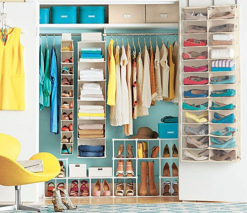 DIY Ways To Organize Your Closet  Simple DIY Tips For Organizing Your Closet on a Bud