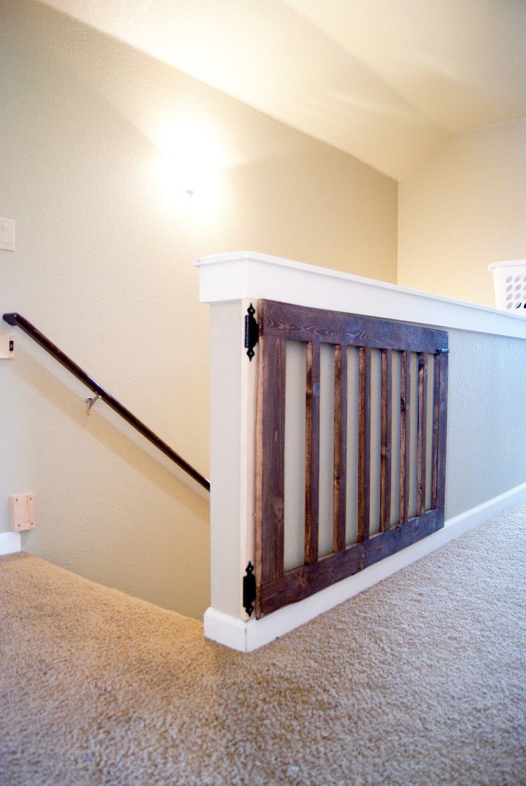 DIY Wood Baby Gate  Custom Baby Gate