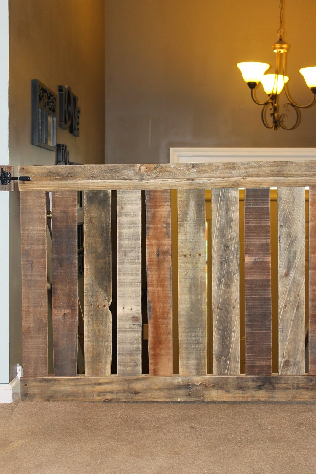 DIY Wood Baby Gate  Hank and Honey The Cutest Baby Gate Ever