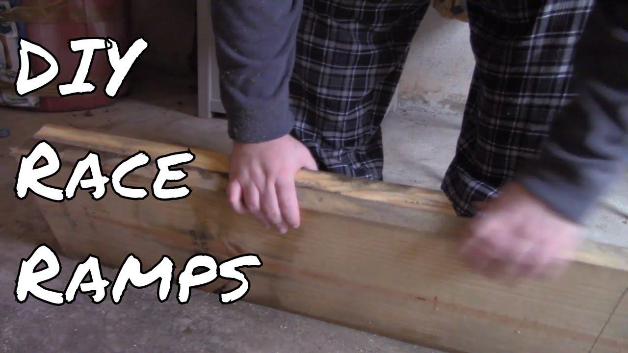DIY Wood Car Ramps  DIY Low Profile Car Ramp Bud Race Ramps