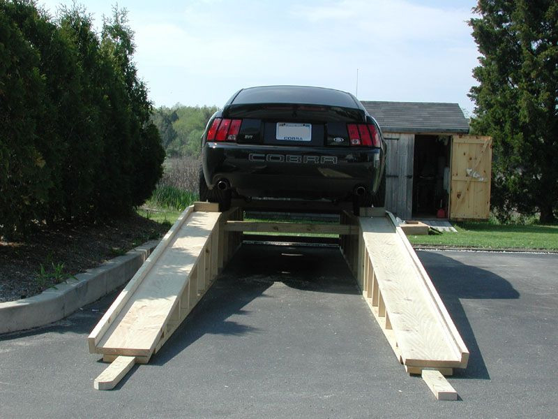 DIY Wood Car Ramps  DIY Homemade Wooden Ramps For Your Car
