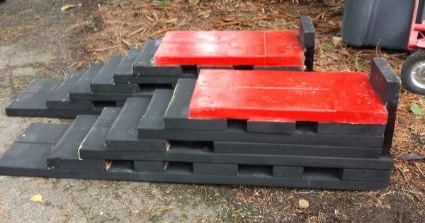 DIY Wood Car Ramps  Wooden car ramp diy board Pinterest