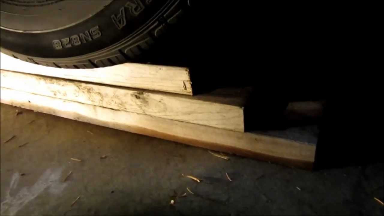 DIY Wood Car Ramps  Cheap and quick DIY car ramps from wood boards when