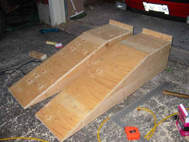 DIY Wood Car Ramps  Wood shed designs 911 conspiracy Info Sanglam