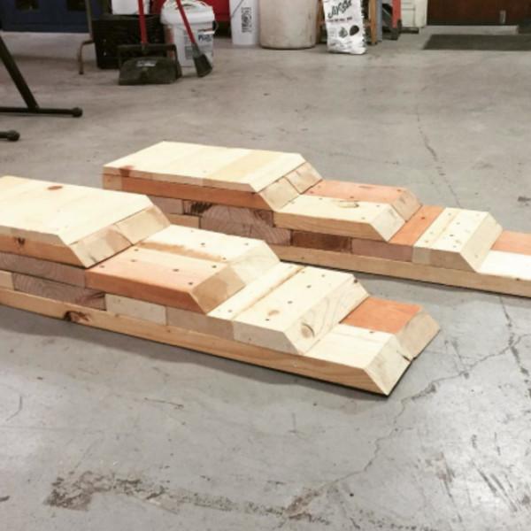 DIY Wood Car Ramps  DIY Car Ramps RYOBI Nation Projects