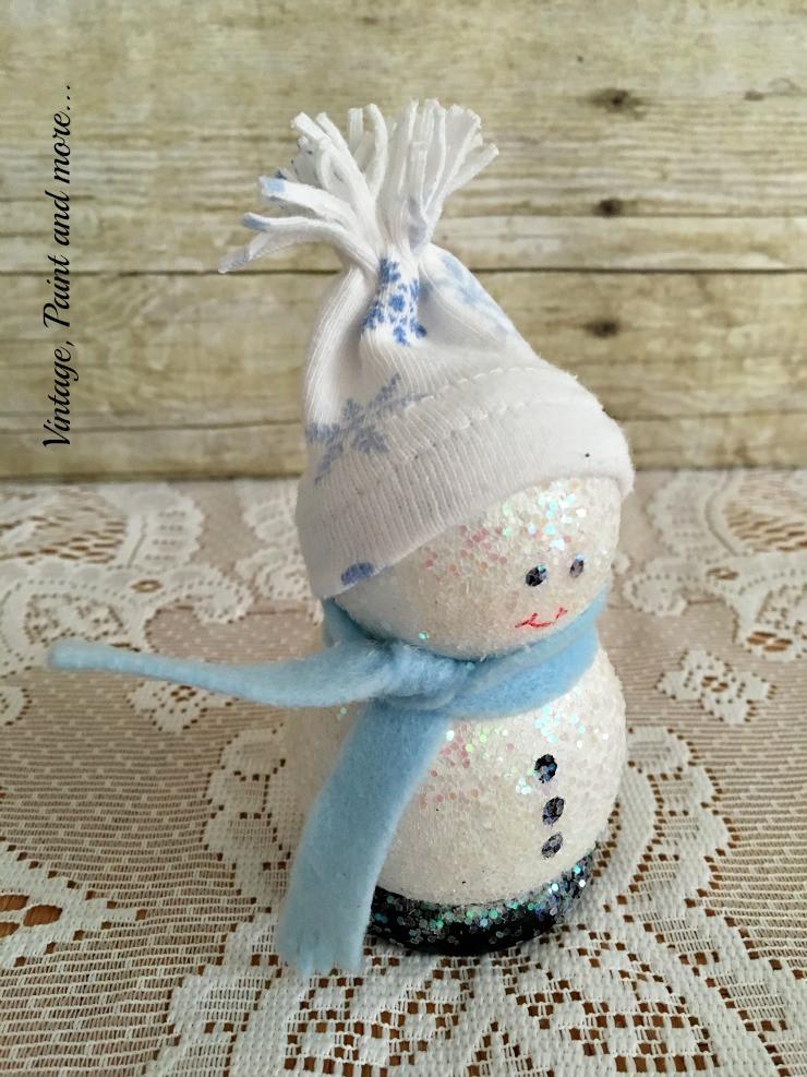 DIY Wooden Snowman  A Dose of DIY Wooden Snowman