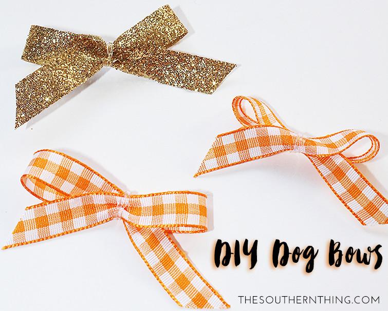 Dog Hair Bows DIY  DIY Dog Hair Bows The Southern Thing