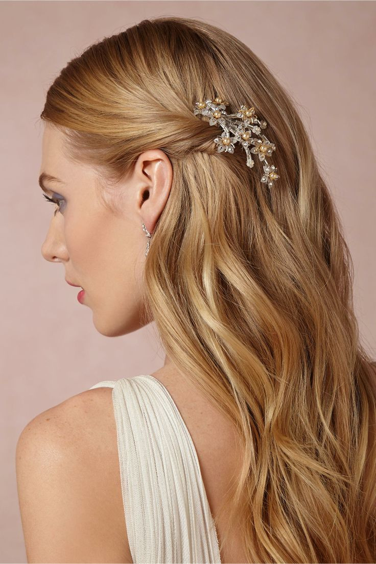 Down Hairstyles For Brides  Wedding Hairstyles 2016 Dipped In Lace