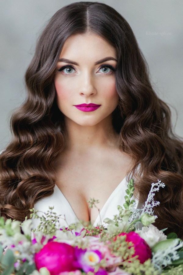 Down Hairstyles For Brides  Top 20 Down Wedding Hairstyles for Long Hair