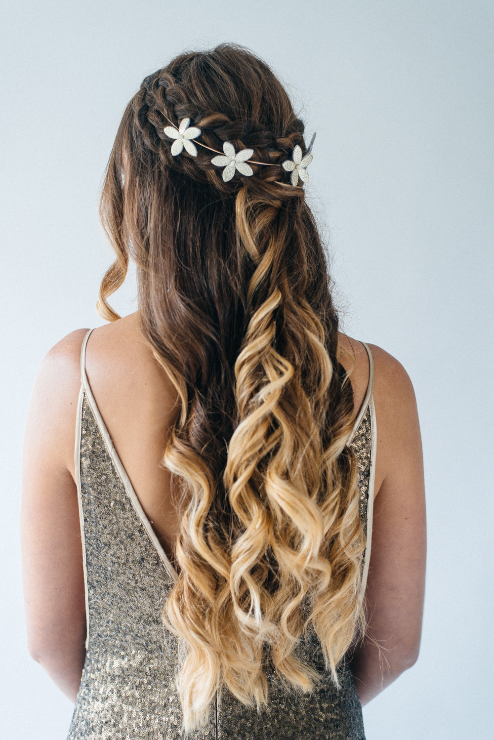 Down Hairstyles For Brides  Inspiration For Half Up Half Down Wedding Hair With
