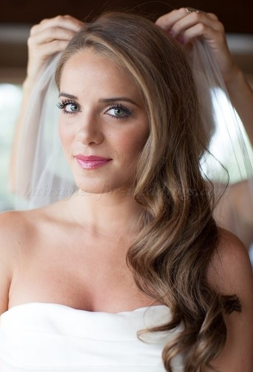 Down Hairstyles For Brides  9 Ideas for Wedding Hair Brides Maids & Guests