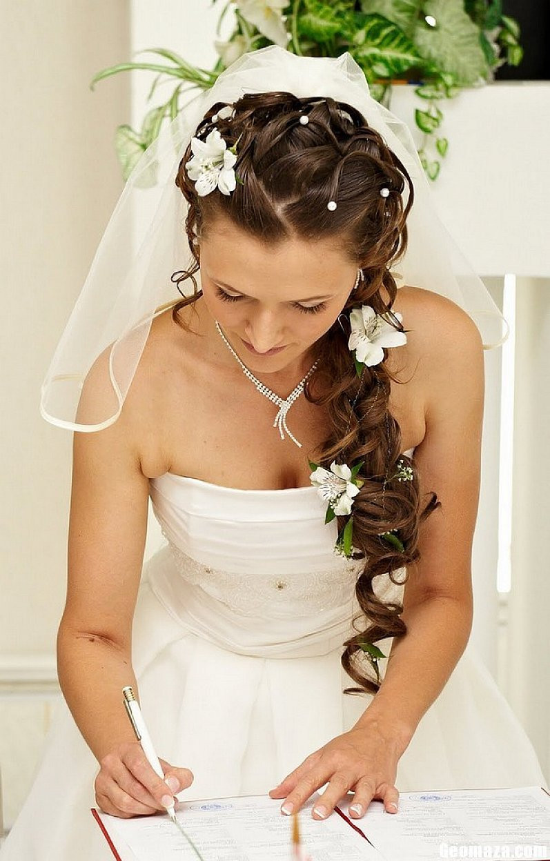 Down Hairstyles For Brides  Wedding Hairstyles For Long Hair s