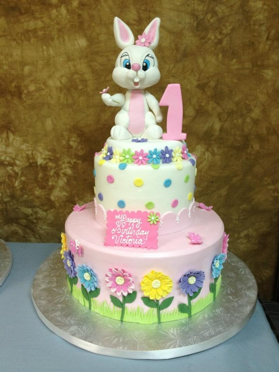 Easter Birthday Cakes  Easter Bunny Birthday Cake CakeCentral
