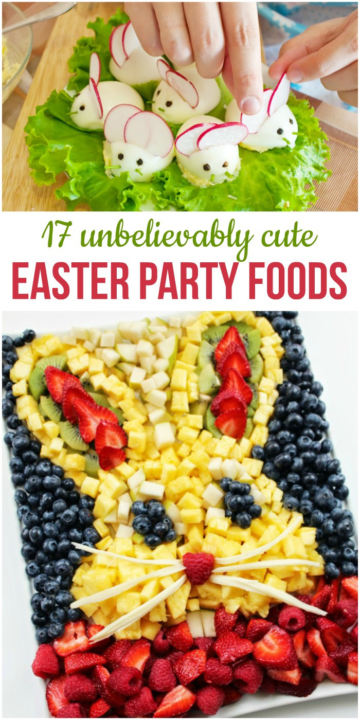 Easter Egg Party  17 Unbelievably Cute Easter Party Foods for Your Brunch or