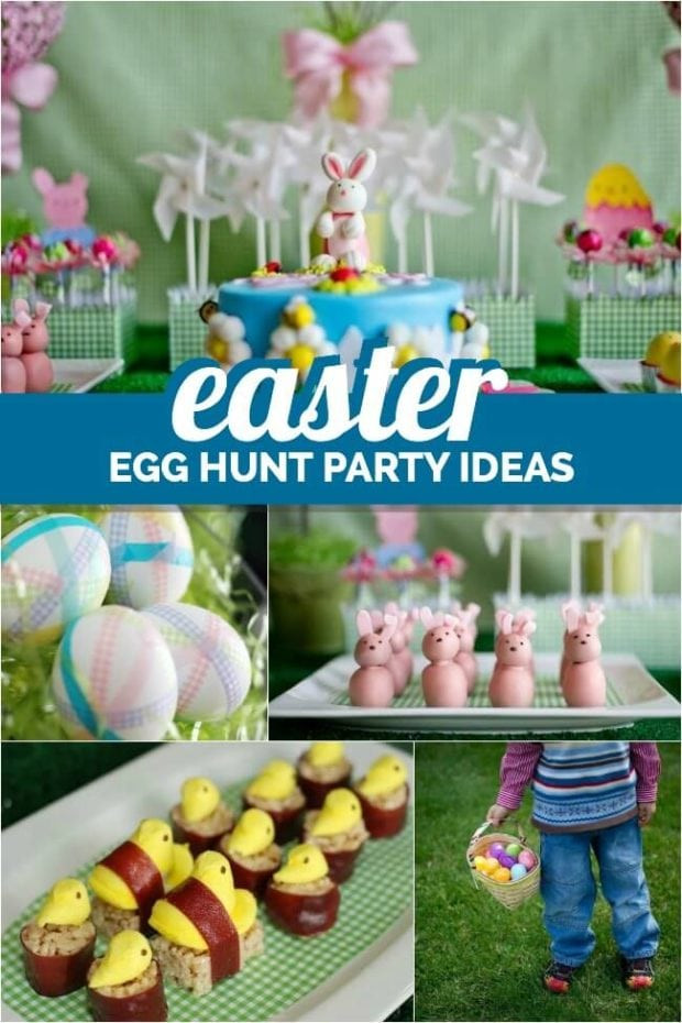 Easter Egg Party  Children s Easter Egg Hunt Party Ideas Spaceships and