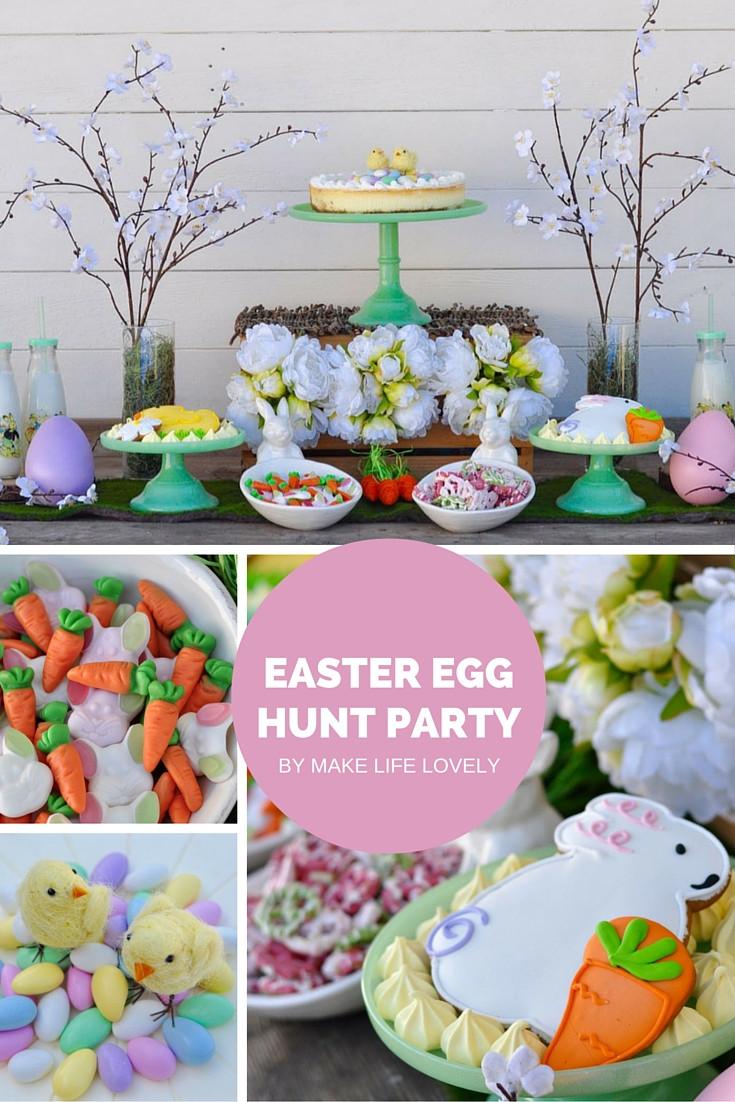 Easter Egg Party  Easter Egg Hunt Party Make Life Lovely