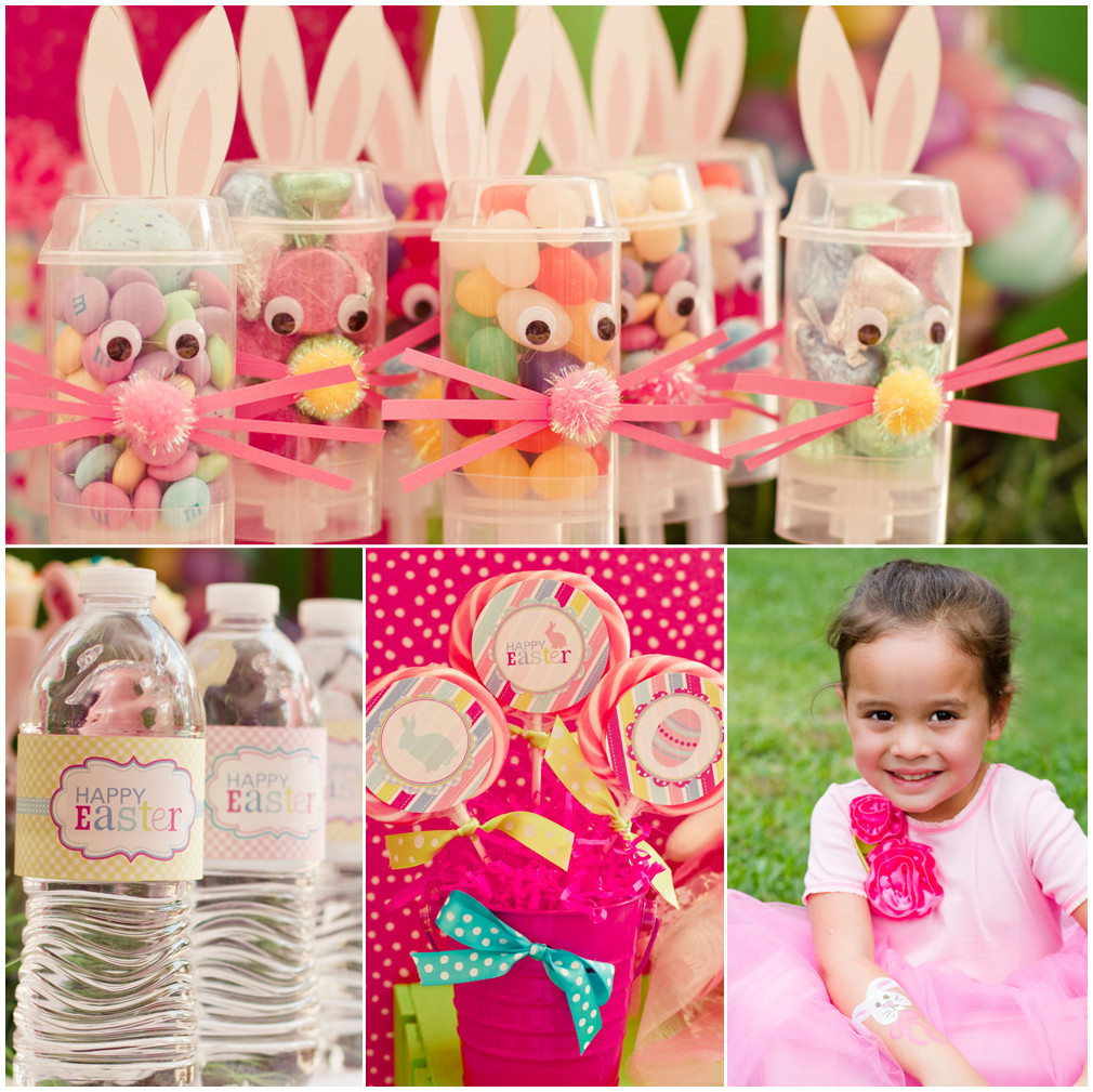 Easter Egg Party  Whimsical Pink Green Easter Party