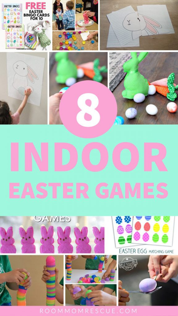 Easter Games For Kids Indoor  8 Fun Indoor Easter Games for Kids • Room Mom Rescue