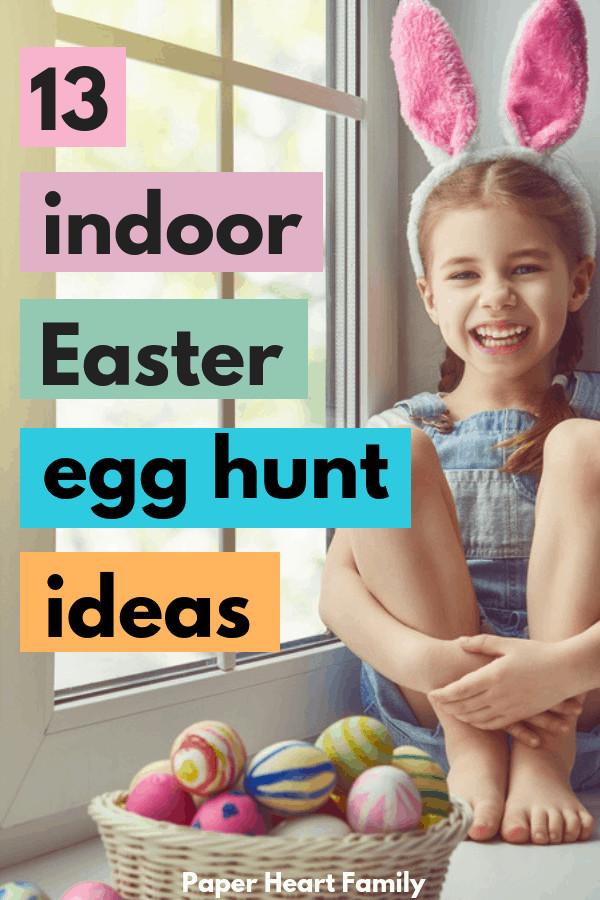 Easter Games For Kids Indoor  13 Indoor Easter Egg Hunt Ideas For Kids All Ages