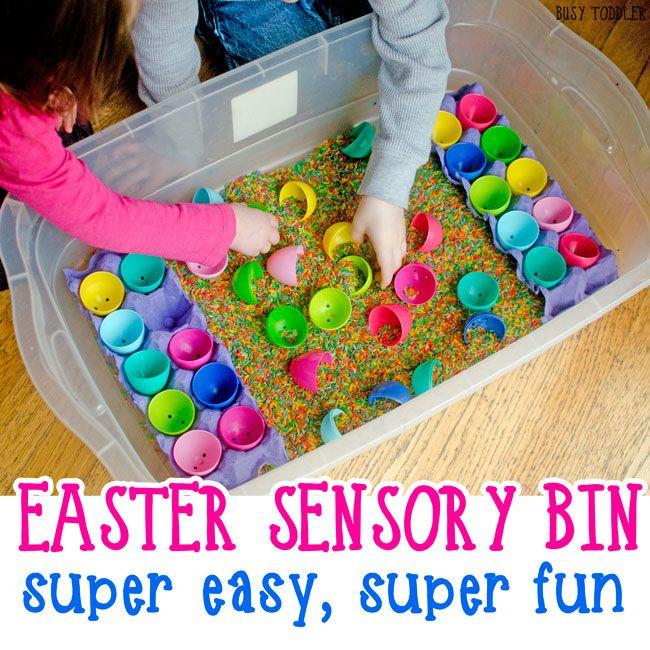 Easter Games For Kids Indoor  Easter Sensory Bin Kids Activities