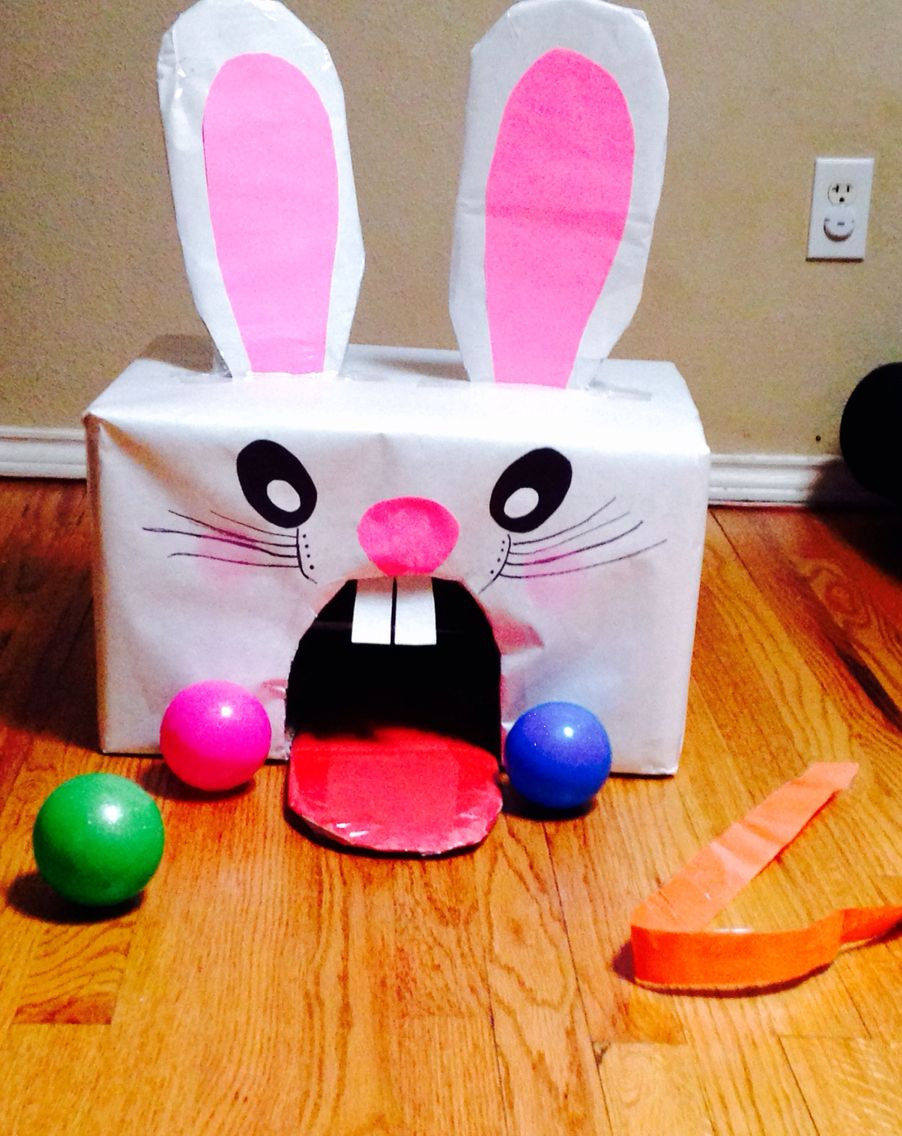 Easter Games For Kids Indoor  Easter bunny game Indoor or outdoor Easy to make and fun
