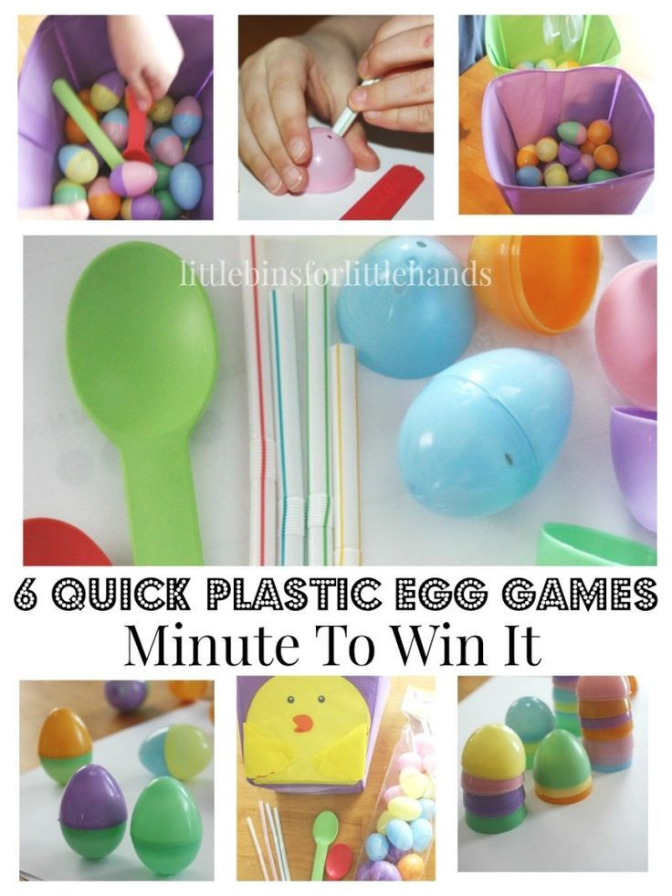 Easter Games For Kids Indoor  Easter Minute To Win It Games