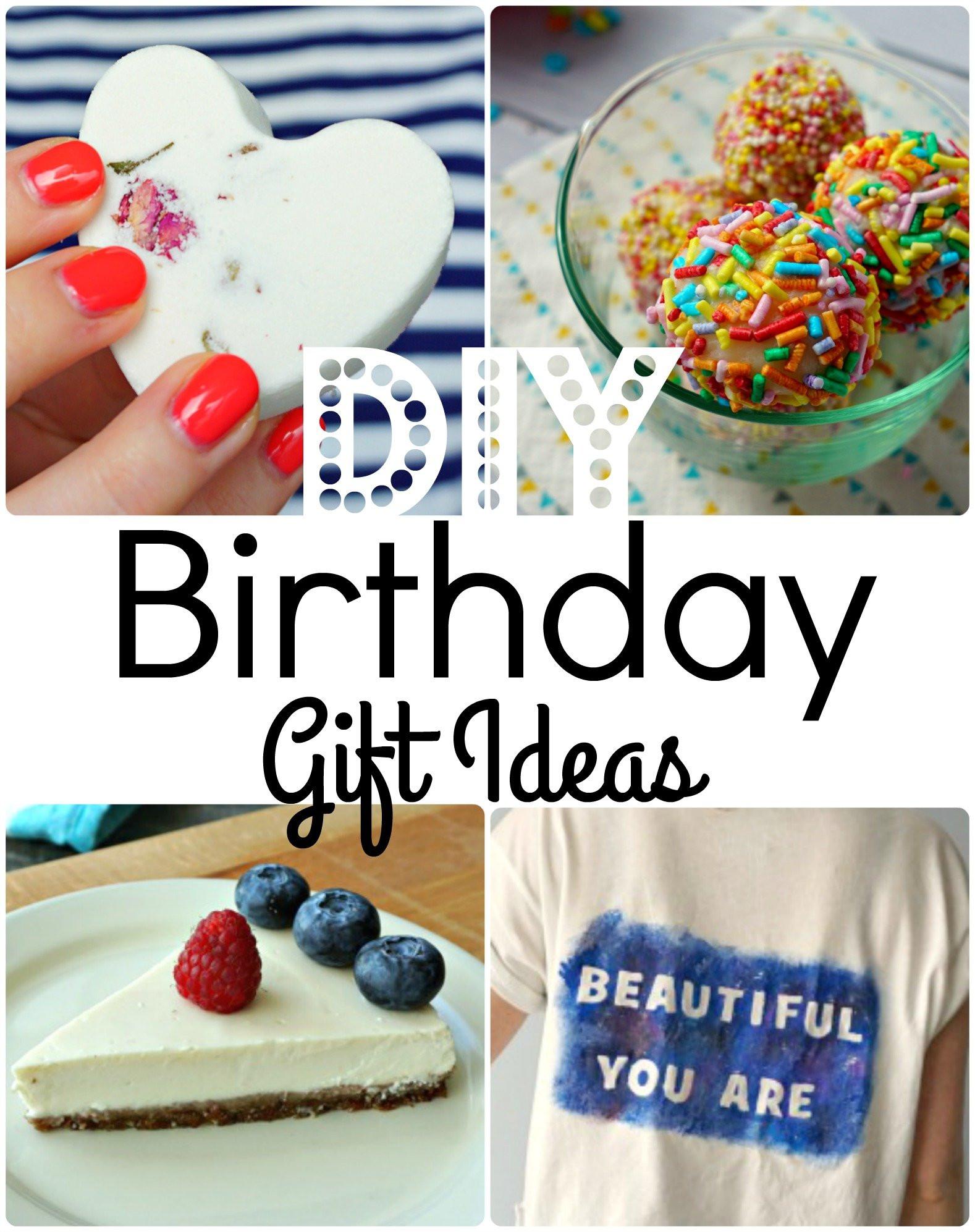 Easy Birthday Gift Ideas  7 Easy DIY Birthday Gift Ideas that are always a hit The