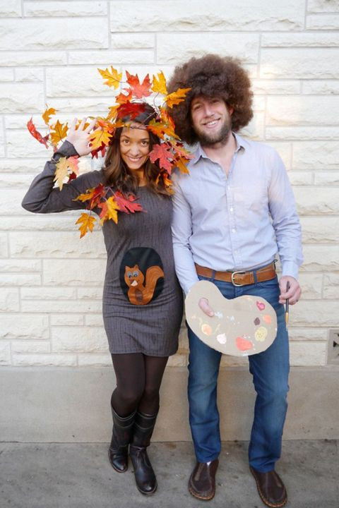 Easy DIY Couple Costumes  45 DIY Couples Halloween Costumes Easy Homemade Couples