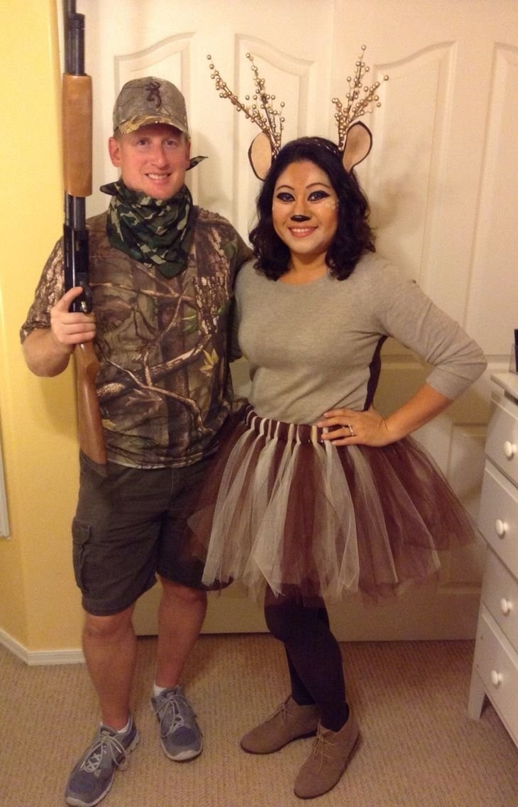 Easy DIY Couple Costumes  10 Attractive Cheap Couple Halloween Costume Ideas 2019