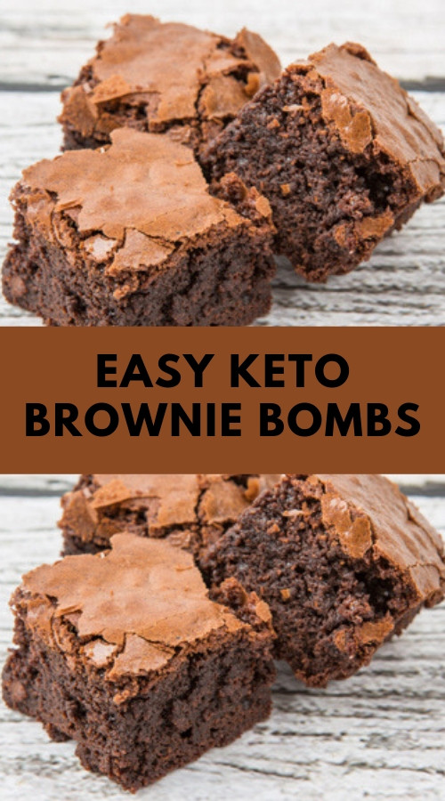 Easy Keto Brownies  All delicious Recipe Easy Keto Brownie Bombs