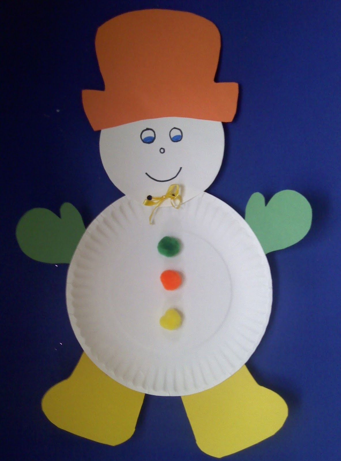 Easy Projects For Preschoolers  Crafts For Preschoolers January 2012