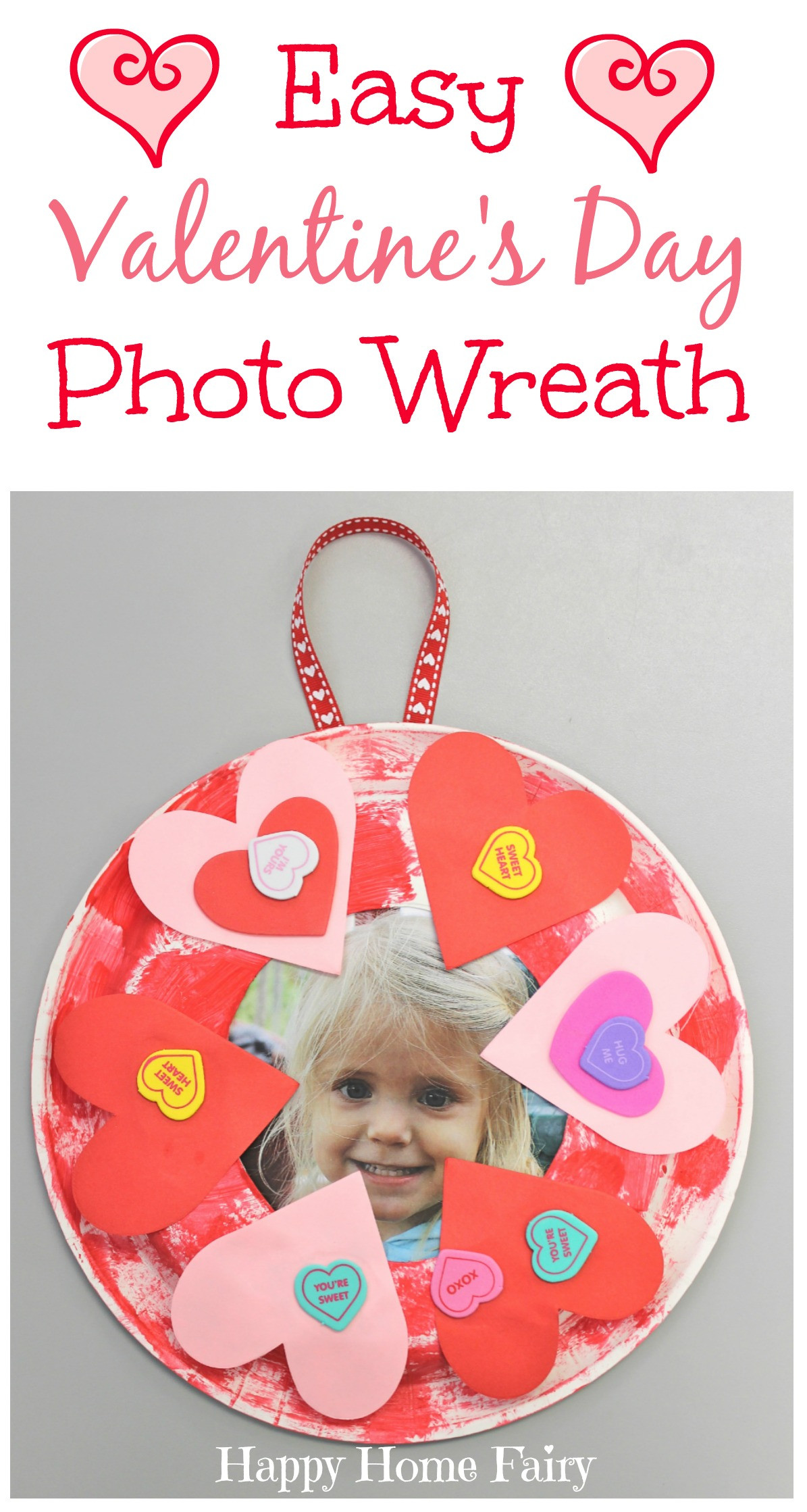 Easy Projects For Preschoolers  Easy Valentine s Day Craft Happy Home Fairy