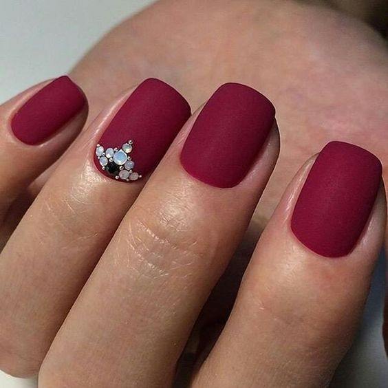 Fall Matte Nail Colors  55 Fall Matte Nail Colors to Try This Year