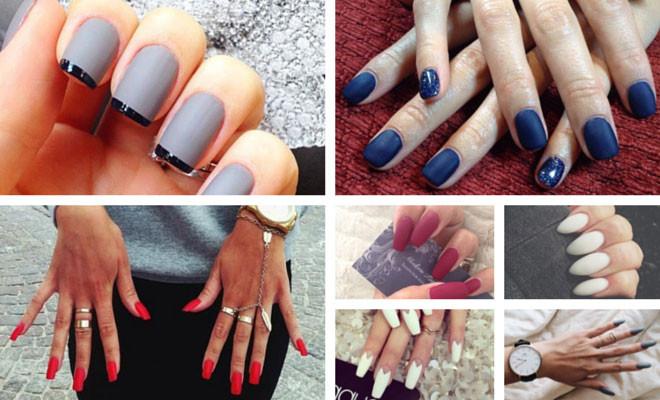 Fall Matte Nail Colors  Fall 2014 Nail Trend Matte Nails