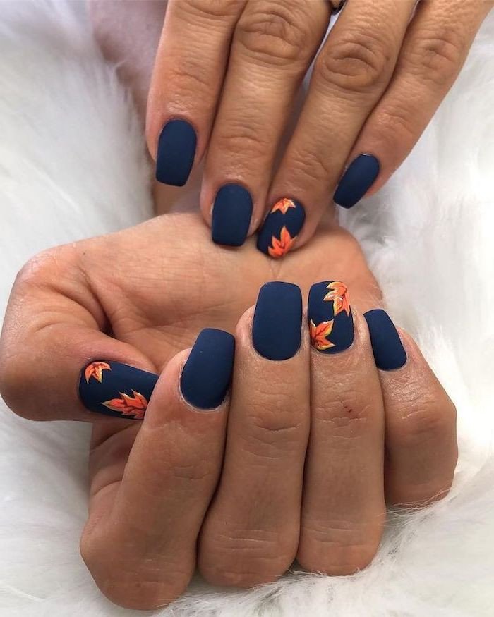 Fall Matte Nail Colors  1001 ideas for cute nail designs you can rock this summer