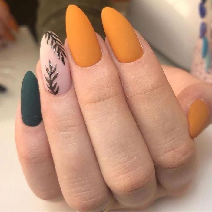 Fall Matte Nail Colors  1001 ideas for fall nail colors to try this season