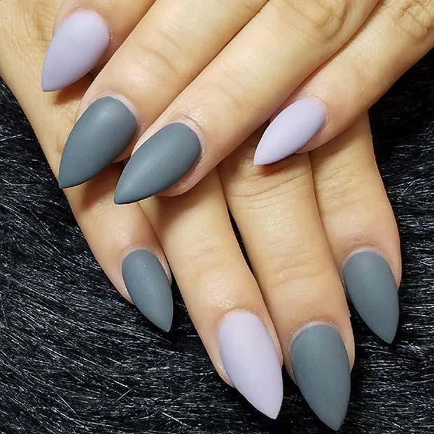 Fall Matte Nail Colors  23 Must Have Matte Nail Designs for Fall