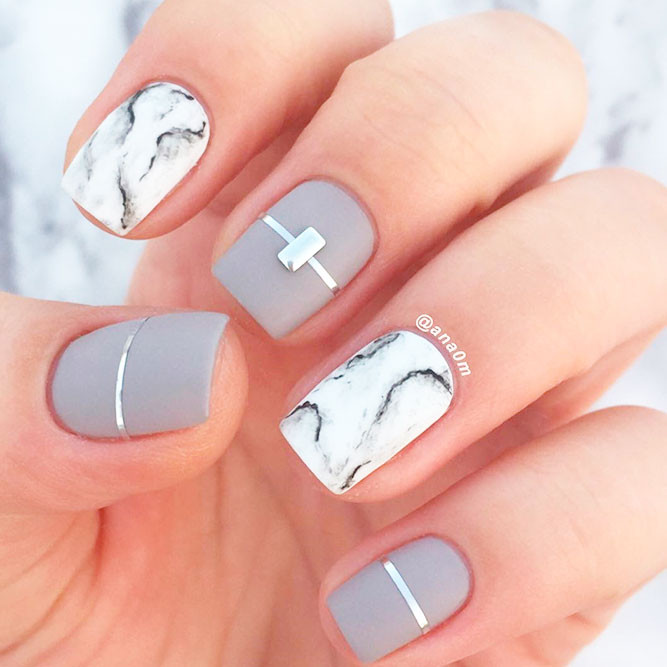 Fall Matte Nail Colors  21 Gorgeous Fall Color Nails Designs
