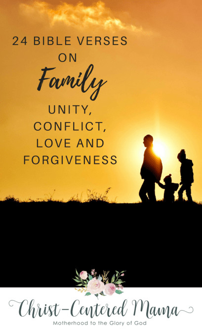 Family Bible Quotes  24 Bible Verses About Family