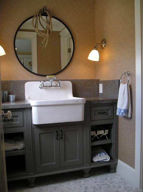 Farmhouse Bathroom Sink  Farmhouse Sinks in the Bathroom Abode