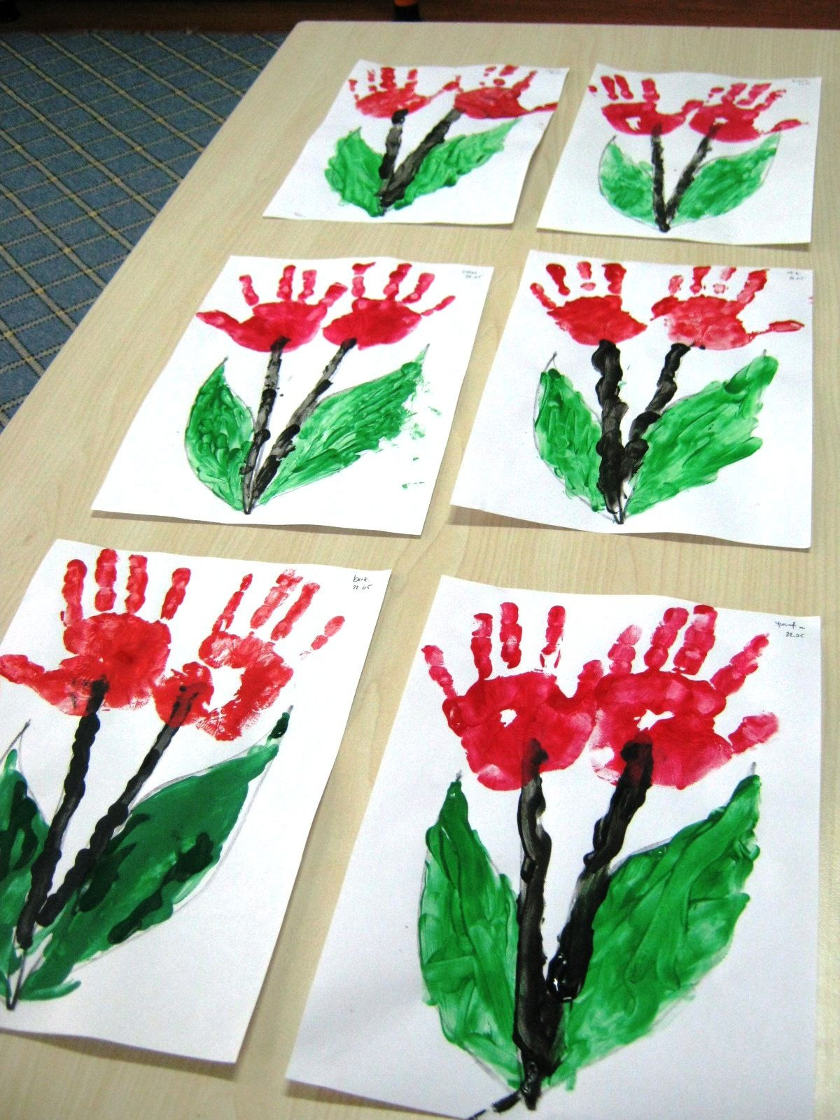 Father'S Day Craft Ideas For Preschoolers  flower craft