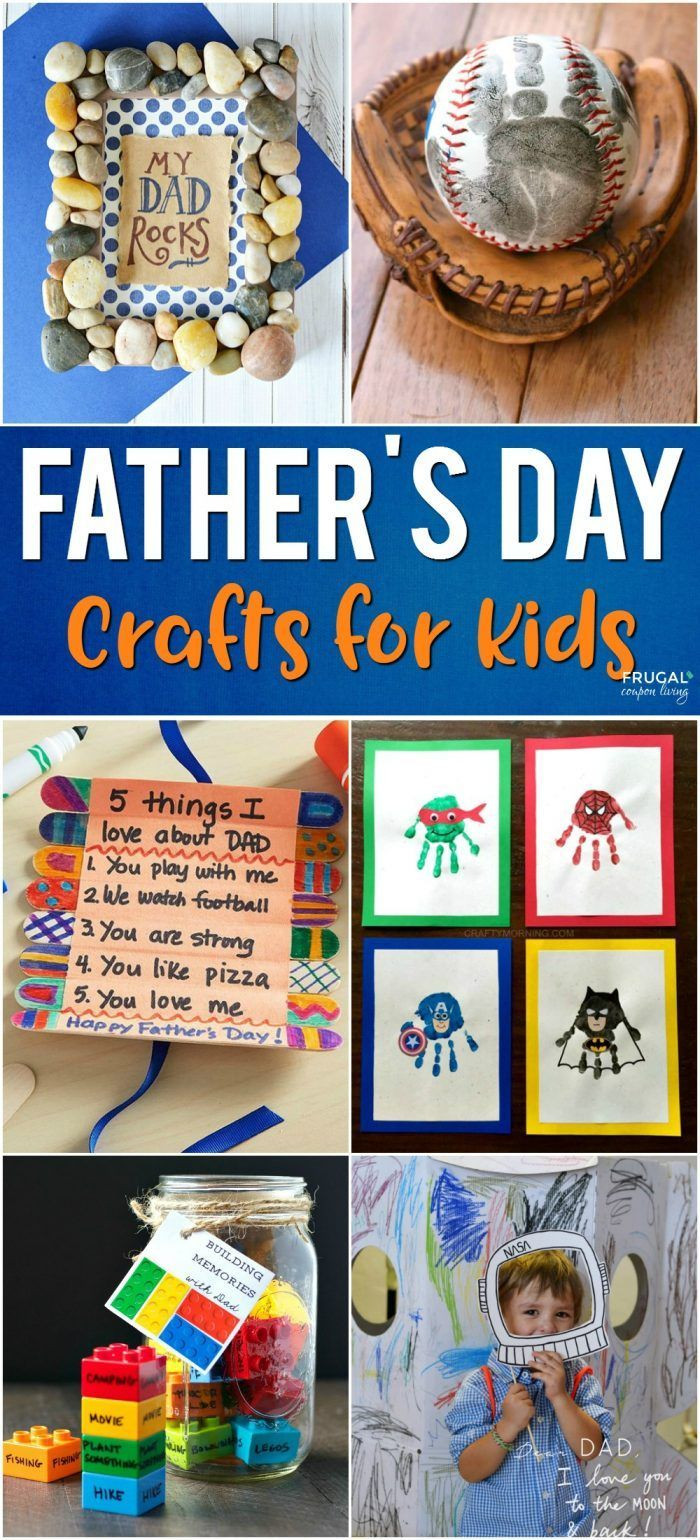 Father'S Day Craft Ideas For Preschoolers  Father s Day Crafts for Kids With images