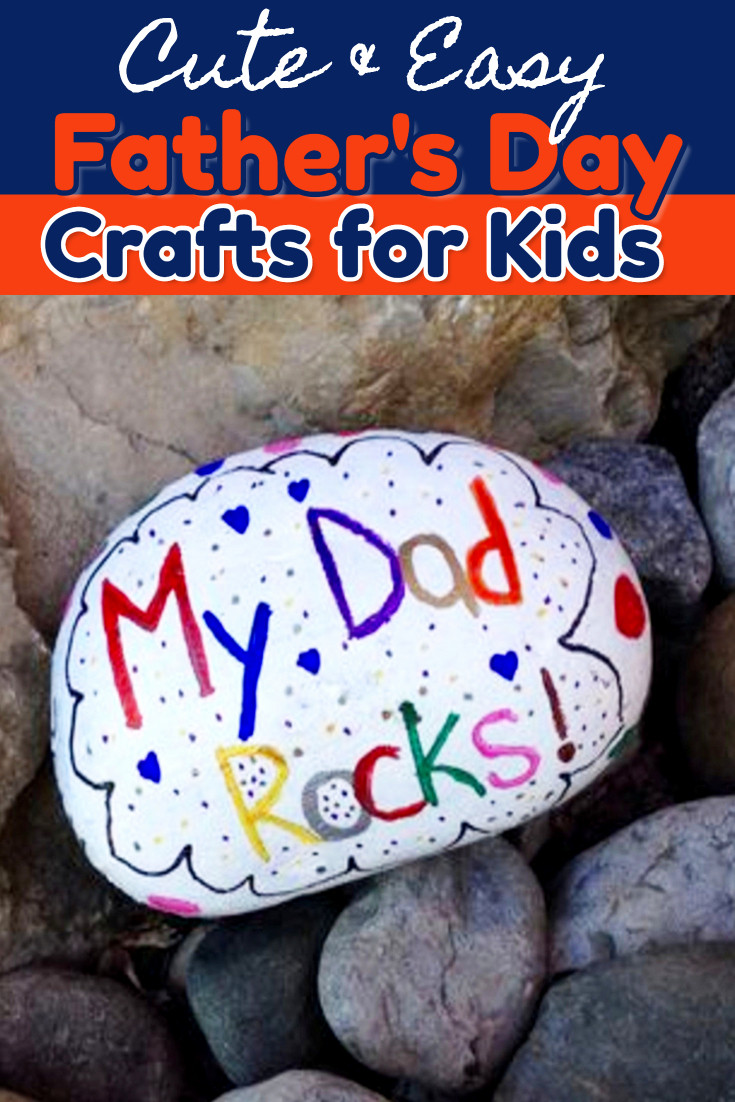 Father'S Day Craft Ideas For Preschoolers  54 Easy DIY Father s Day Gifts From Kids and Fathers Day