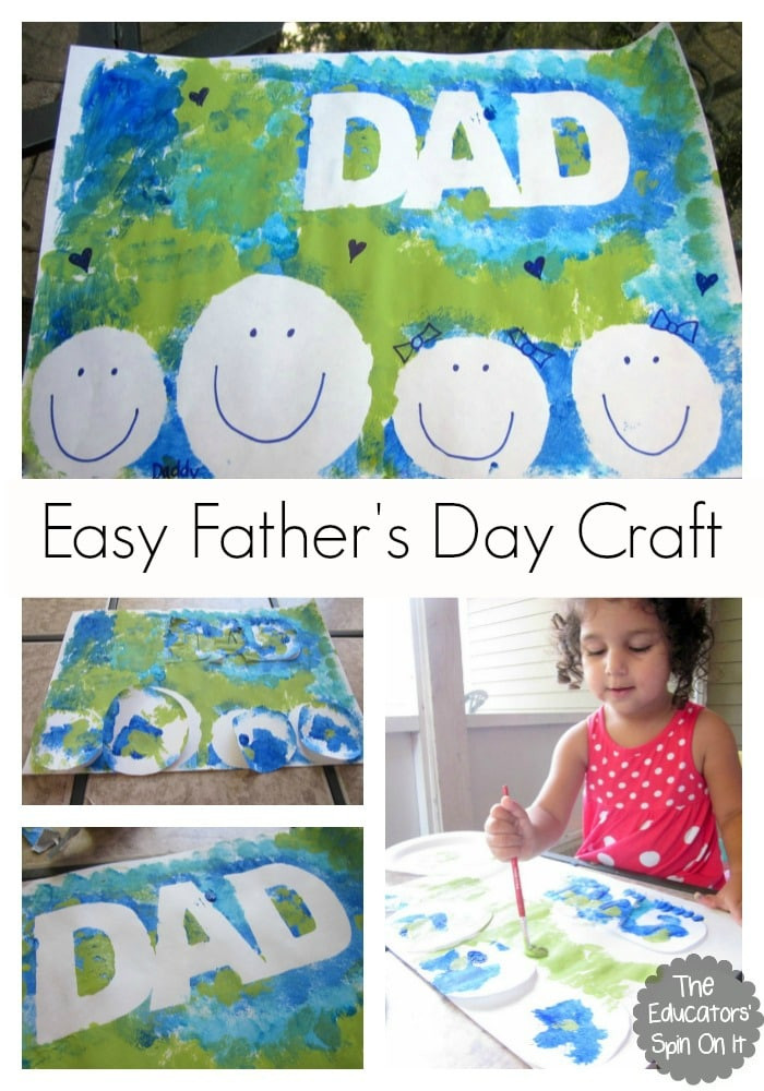 Father'S Day Craft Ideas For Preschoolers  Easy Father s Day Craft for Kids to Make