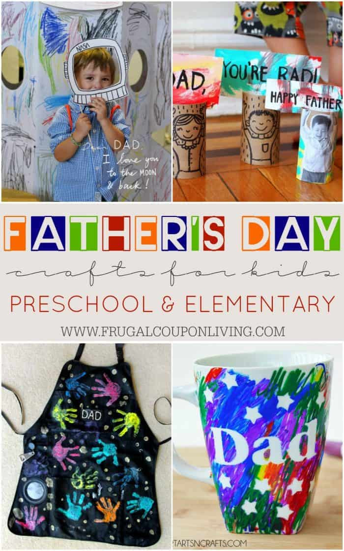 Father'S Day Craft Ideas For Preschoolers  Father s Day Crafts for Kids Preschool Elementary and More