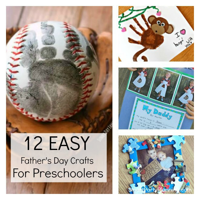 Father'S Day Craft Ideas For Preschoolers  12 Easy Father s Day Crafts For Preschoolers To Make