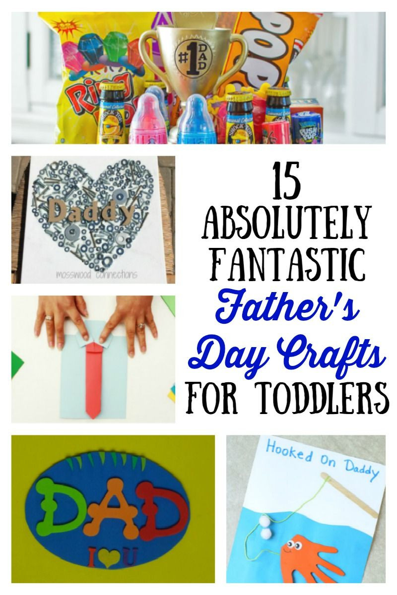 Father'S Day Craft Ideas For Preschoolers  15 Absolutely Fantastic Father s Day Crafts for Toddlers