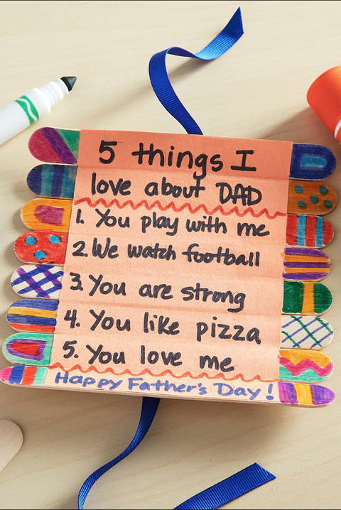 Father'S Day Craft Ideas For Preschoolers  17 Easy Father s Day Craft Gifts for Kids DIY Gifts for